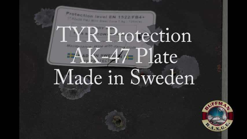 Can Steel Armor Stop 5.56x45mm, M193? TYR Protection AK-47 Plate