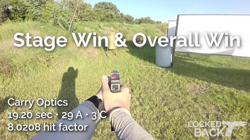 House Stage - USPSA - Carry Optics - Stage & Overall Win