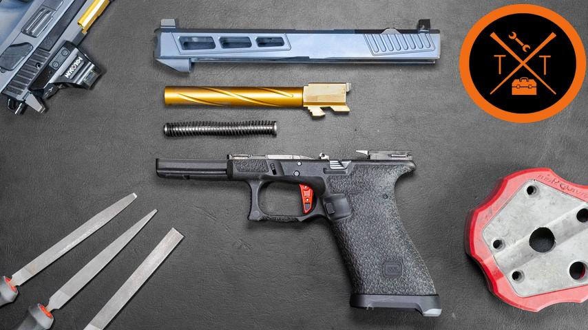 GLOCK 20 10mm Polymer 80 PF45 // (Tutorial & Build List) - Full30
