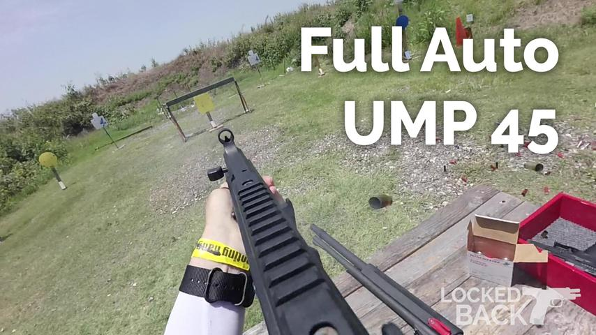 3 Gun Stage with a Full Auto UMP 45