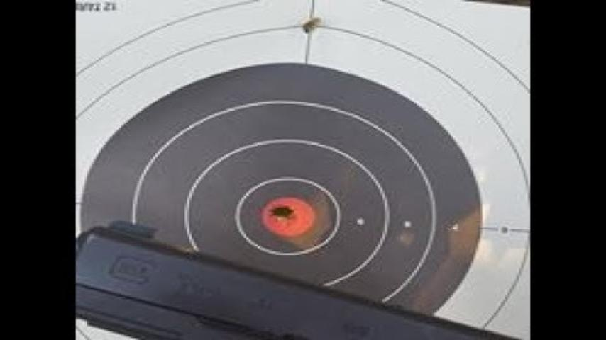 Be sure of your target and what's behind it