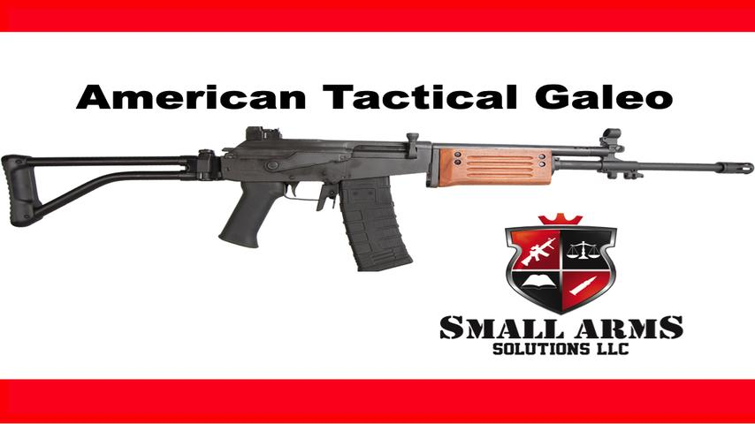 The American Tactical Galeo Rifle - Part 1