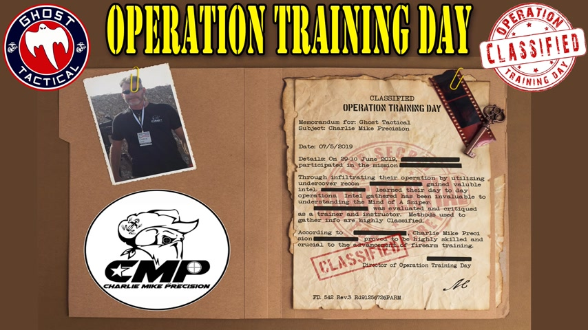 Operation Training Day:  Charlie Melton:  Long Range Sniper Course