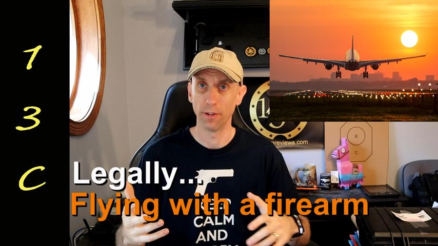 Fly with a Firearm- Step By Step and dispelling the myths - July 2019