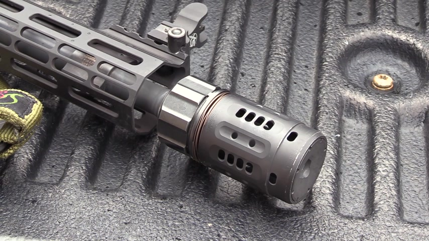 Dead Air Pyro: The Loudencer Muzzle Brake