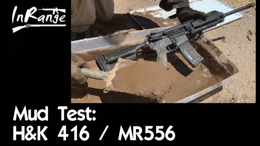 Mud Test: H&K 416/MR556