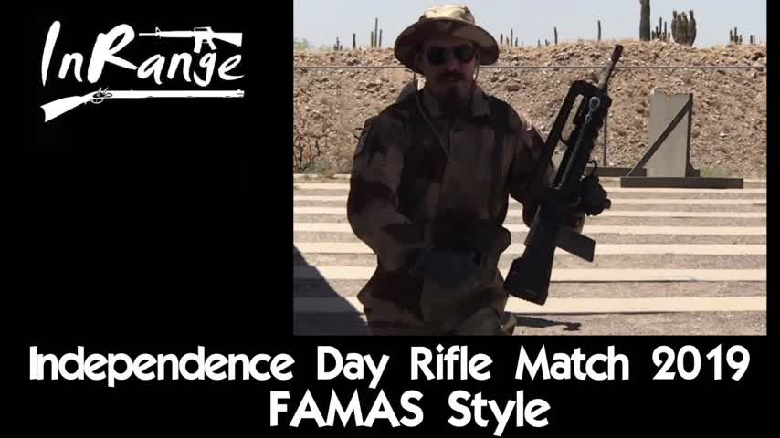 Independence Day Rifle Match 2019 - FAMAS Style