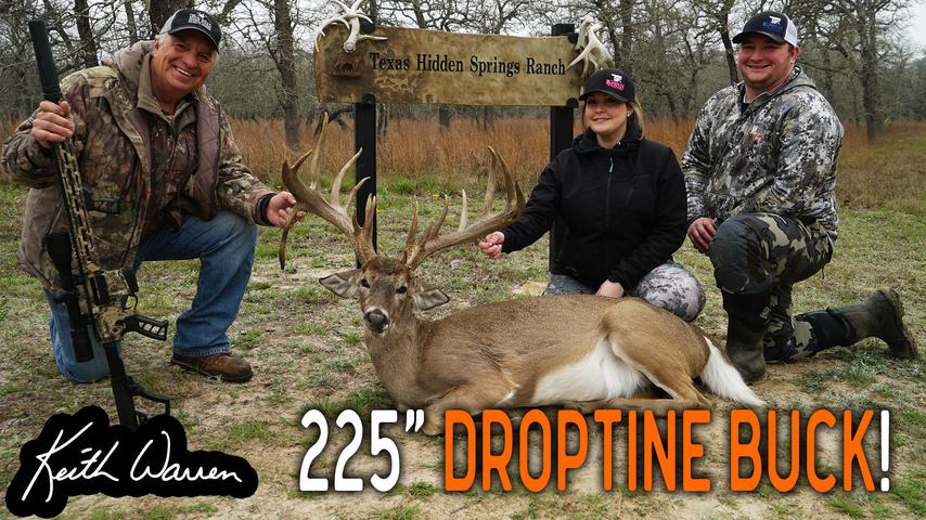 Giant DropTine Buck and more at Texas Hidden Springs Ranch