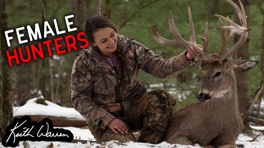 Female Hunters chasing Trophy Whitetail Bucks