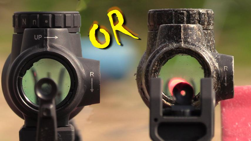 Cowitness VS Lower 1/3 and Iron Sights, Which is Best?