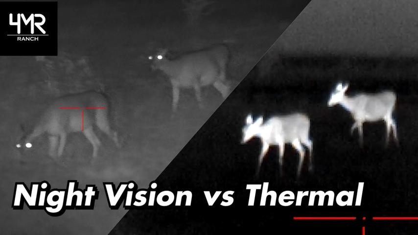 Night Vision vs Thermal | ATN