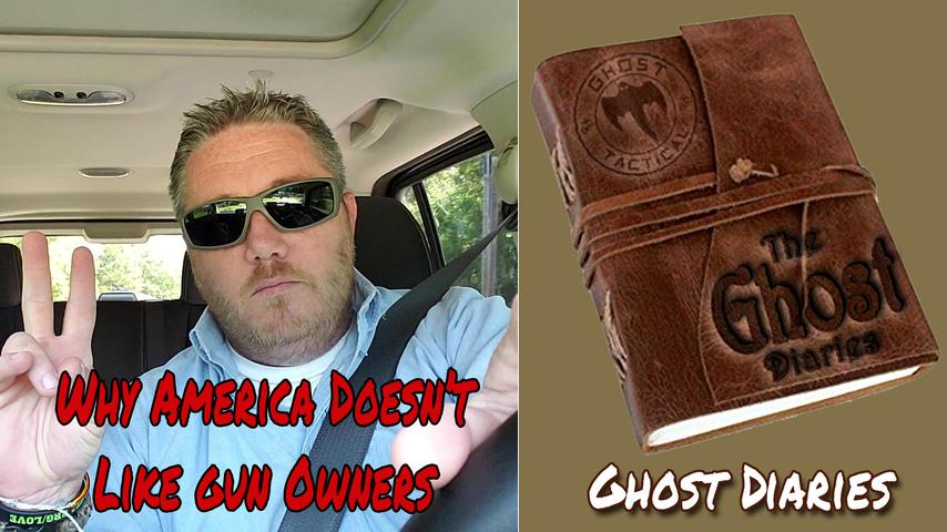Ghost Diaries: Why America Doesn't Like Gun Owners...Are We To Blame?