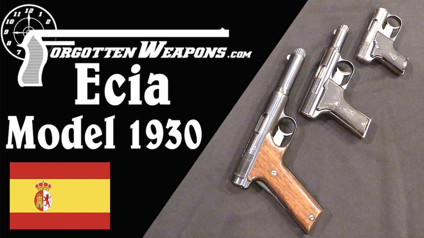 Ecia Model 1930 Family: Competitors to the Astra