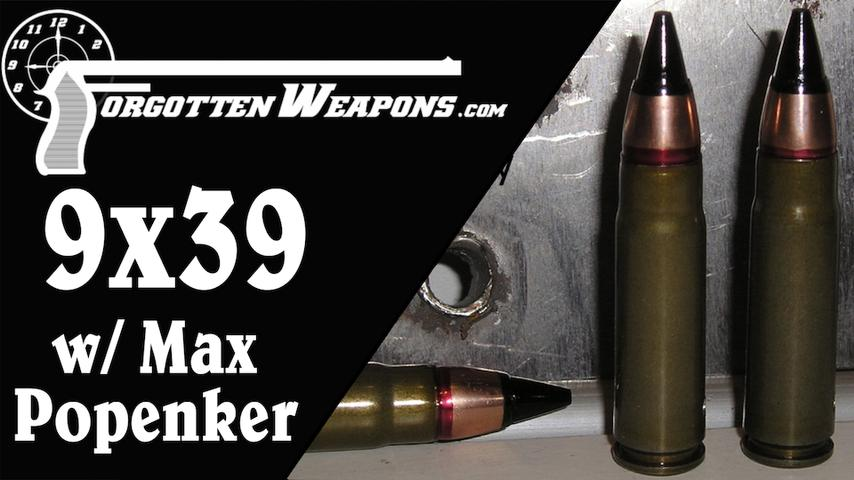 AS Val, VSS Vintorez, OtS-14 Groza, and more: 9x39mm with Max Popenker