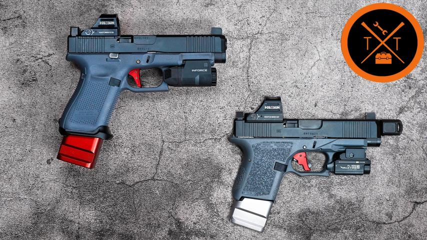 GLOCK 20 10mm Polymer 80 PF45 // (Tutorial & Build List