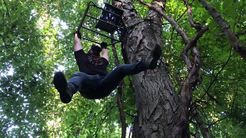 How Not to Hang a Treestand