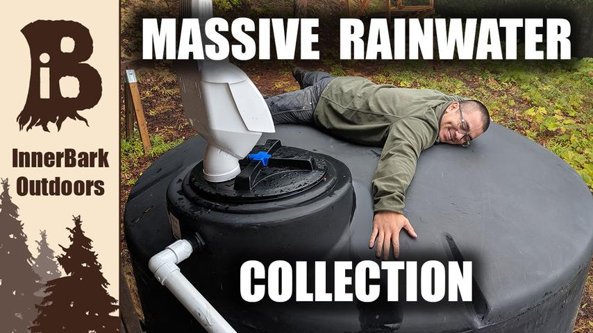 Off-Grid Cabin: DIY Rainwater Collection