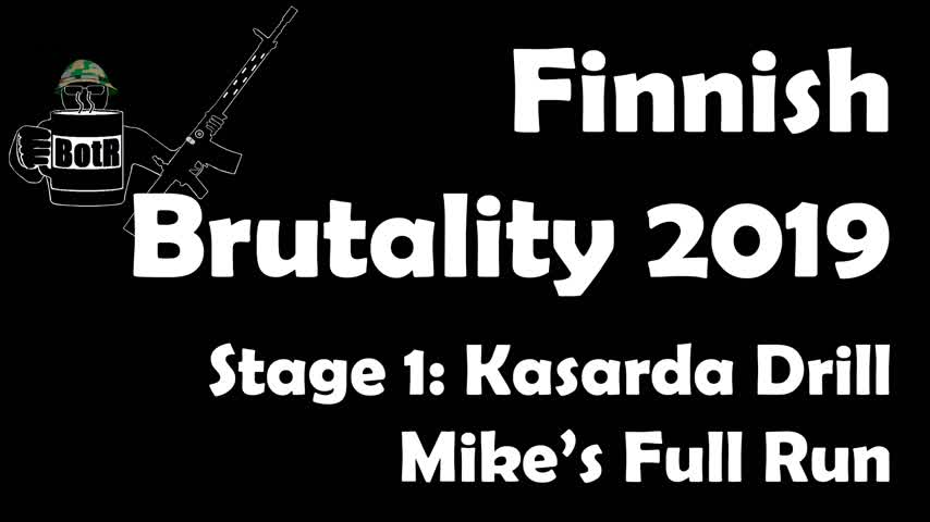 Stage 1 - Mike's (Bloke's) complete Run | Finnish Brutality 2019