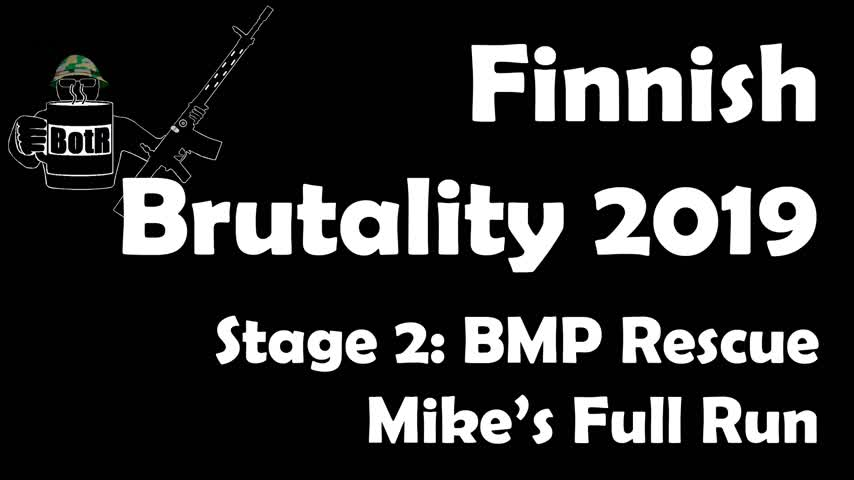 Stage 2 - Mike's (Bloke's) complete Run | Finnish Brutality 2019