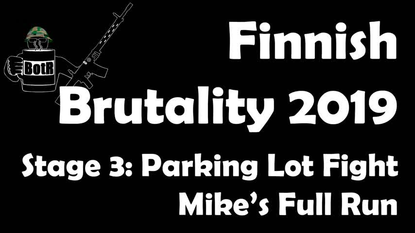 Stage 3 - Mike's (Bloke's) complete Run | Finnish Brutality 2019