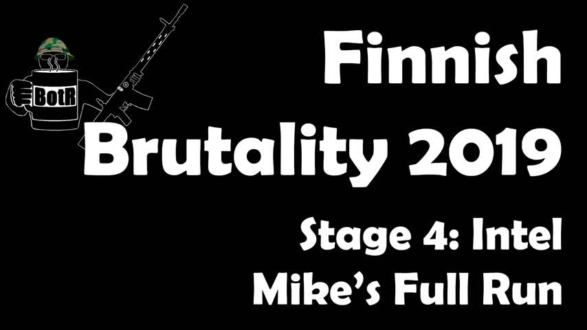 Stage 4 - Mike's (Bloke's) complete Run | Finnish Brutality 2019