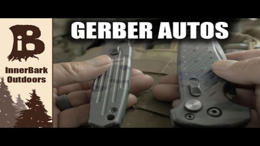 Gerber Gear 06 Auto and Covert: Multicam Blades