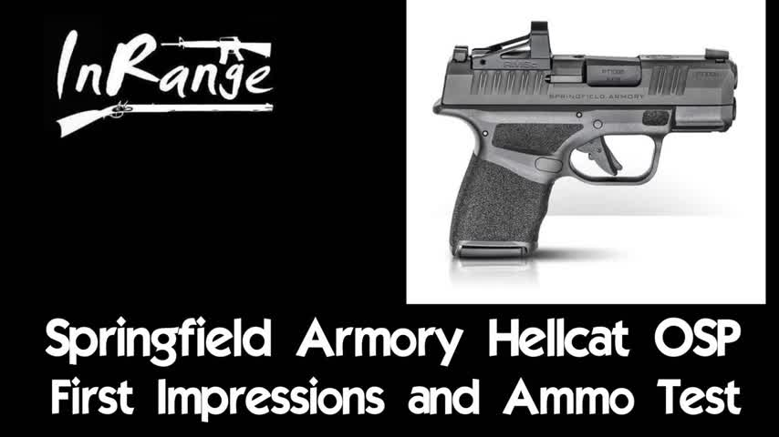 Springfield Armory Hellcat OSP - First Impressions & Ammo Test