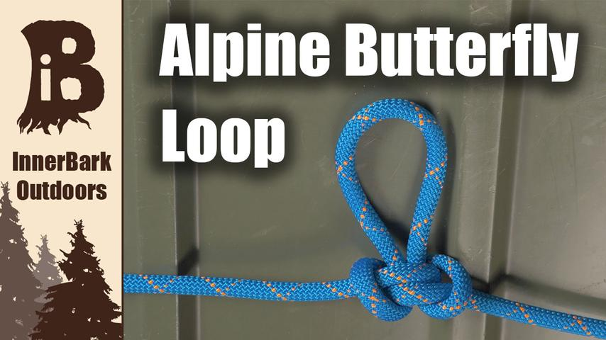 How to tie an Alpine Butterfly Loop Knot