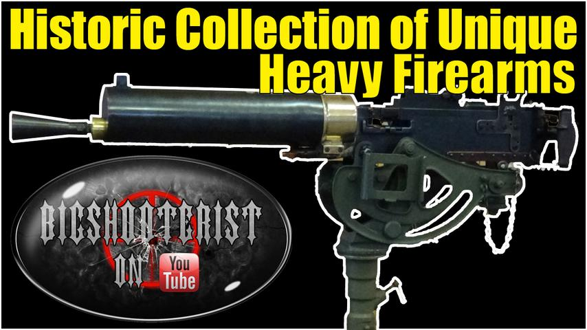 Very Cool Semiautomatic Heavy Gun Collection