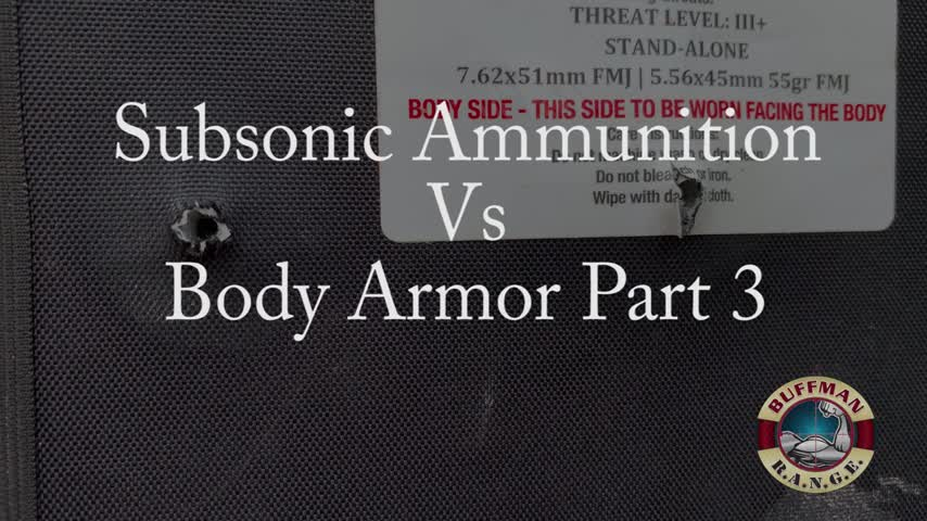 This Is Why You Need M80A1 EPR! Subsonic Armor Test Part 3