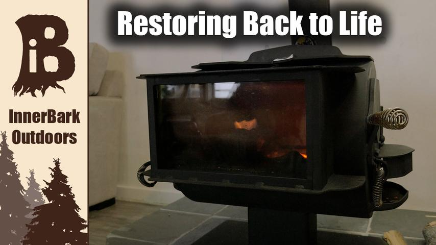 How to Restore Wood Stove | Off-Grid Cabin