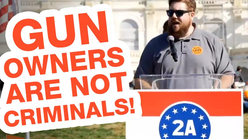 Gun Owners ARE NOT Criminals! - Jon Patton at DC 2A Rally 2019