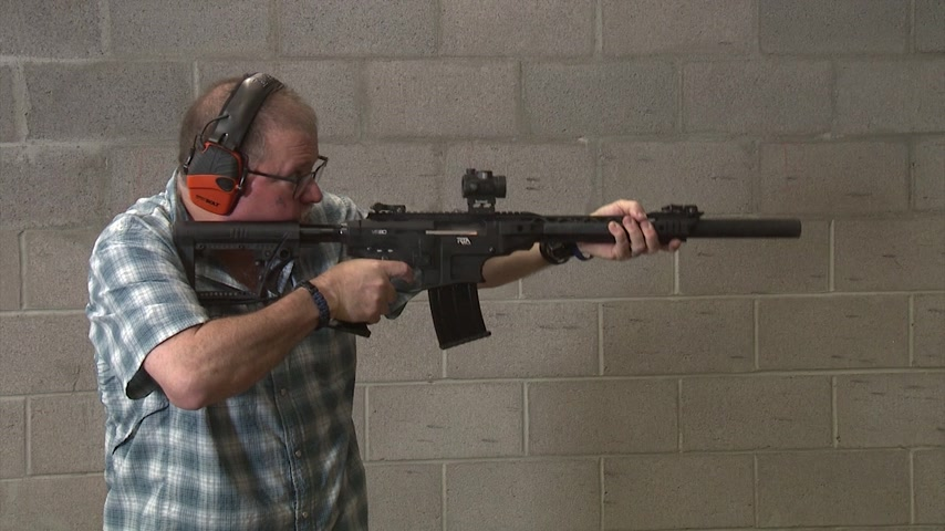 Shooting the Armscor VR-80 with a Red Dot