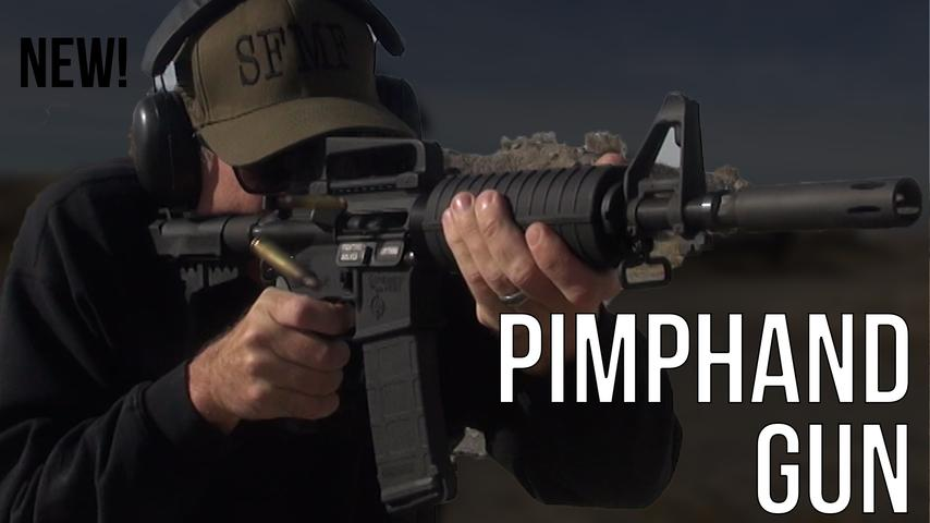 The Pimphand AR-15 is HERE!