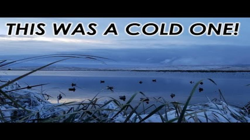 A Snowy Swim in the Sandhills | Public Land Duck Hunt 2018