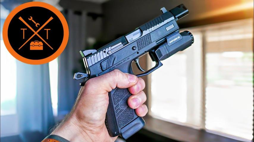CZ P07 Tactical : Space Force Blaster 2.0 (w/Links & Codes)