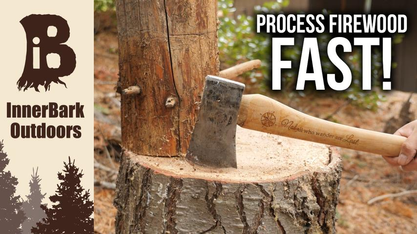 Axe Safety | How to Process Firewood