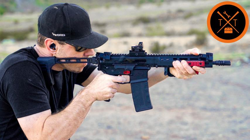 Shooting the ULTIMATE AR-Pistol - (w/Build List and Codes)