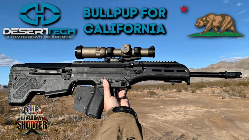 Desert Tech MDRX Finally a Bullpup for California Review