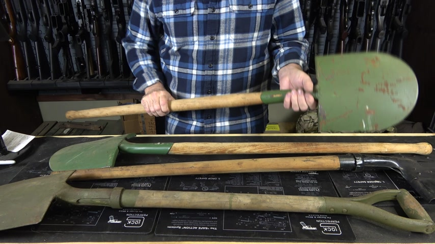 Military Surplus Shovels from Around the World