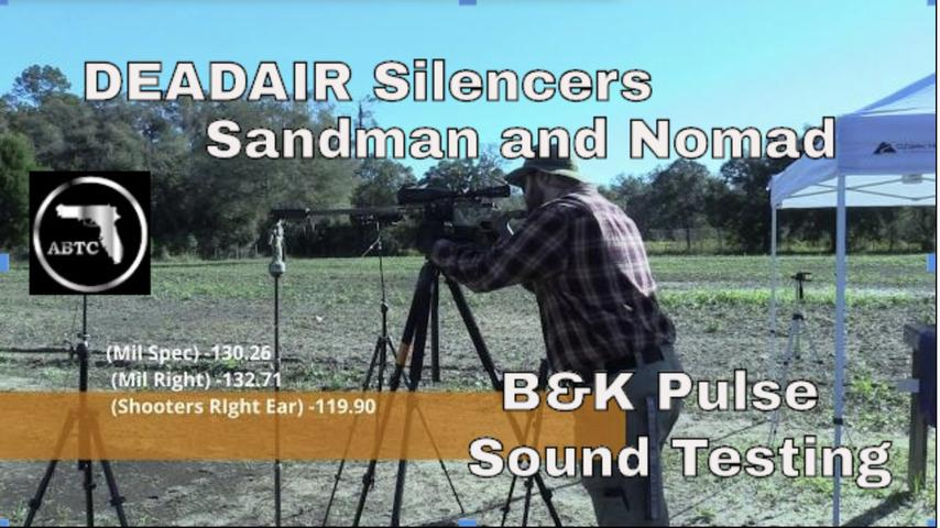 Sound testing with the B&K pulse system and DeadAir Silencers