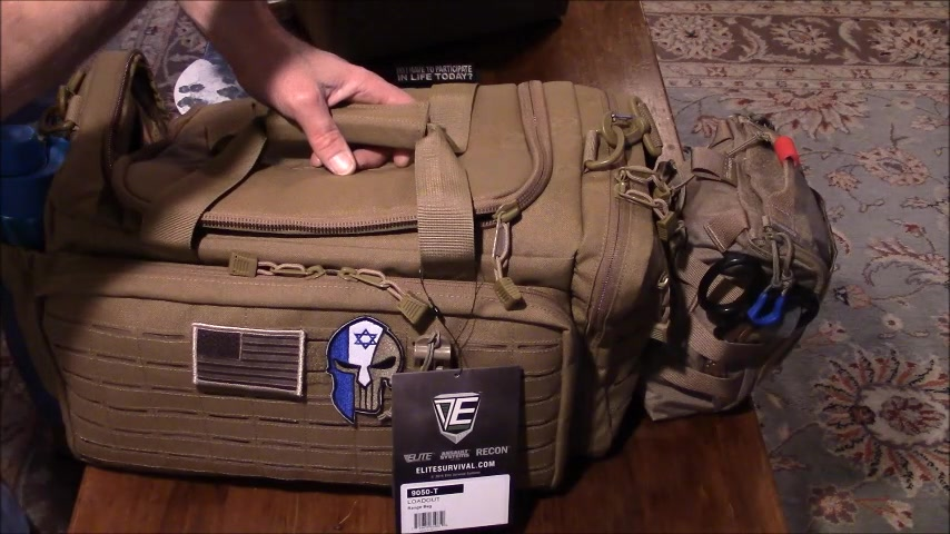 Out Of The Box review of Elite Survival Systems Loadout Range Bag