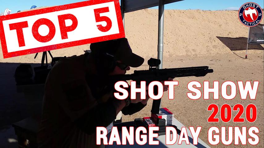 Top 5 SHOT Show 2020 Range Day Guns