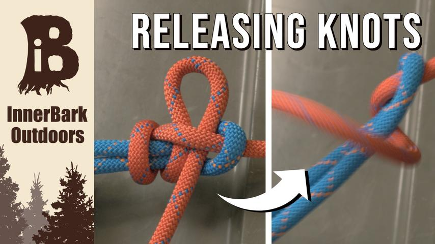 Three QUICK RELEASE KNOTS you NEED to know