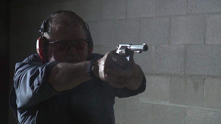 Range Time with the S & W Model 65-6 Police Trade In #797