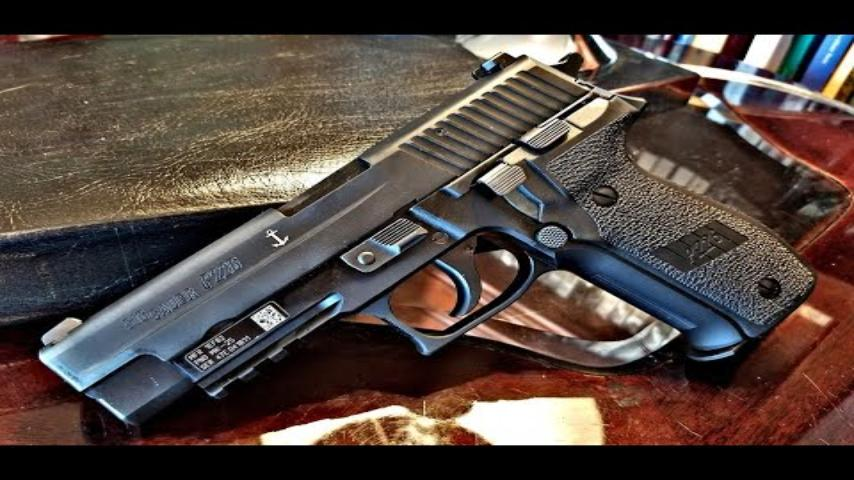 How to clean a sig sauer p226