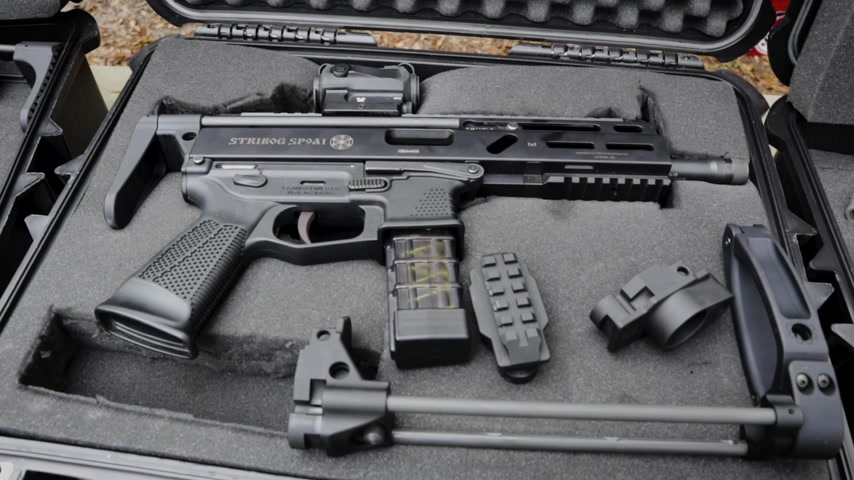 Grand Power Stribog 9MM Stock Adapter FOUR OPTIONS