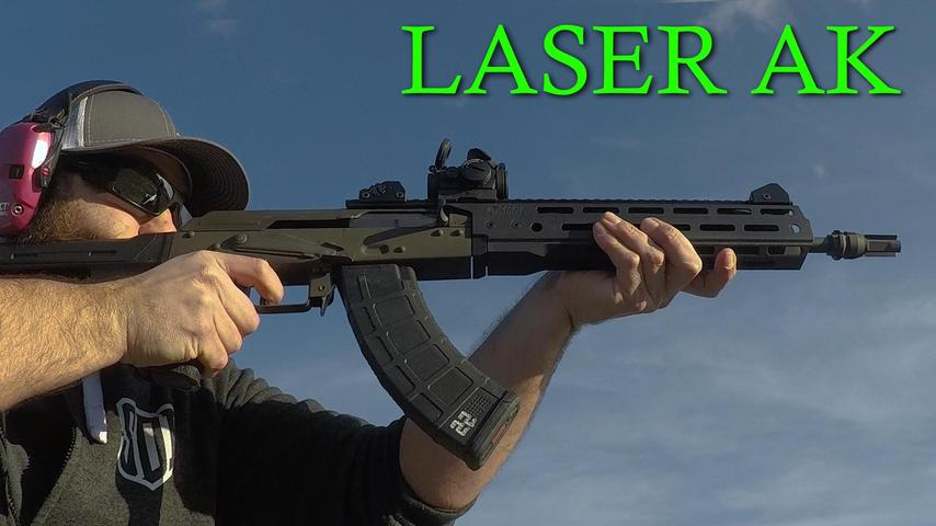 ODS-1775 Space AK 47 Shoots Laser Beams (Accuracy)