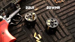 Can you shoot a 22lr out of a 22WMR?