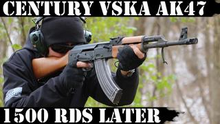 Century VSKA AK47: 1,500 Rounds later!